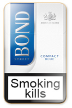Bond Compact Blue Cigarette Pack