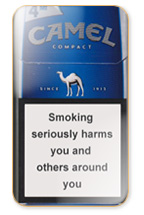 Camel Compact Silver Cigarette Pack