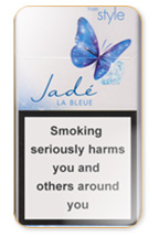Style Jade Super Slims Bleue Cigarette Pack