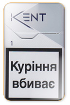 Kent Lights Nr. 1 (White) Cigarette Pack