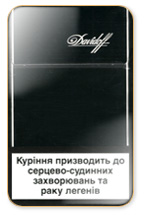 Davidoff Black NanoKings (mini) Cigarette Pack