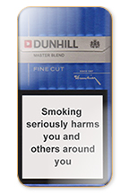Dunhill Fine Cut (Master Blend) Cigarette Pack
