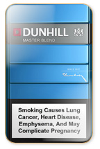 Dunhill Master Blend (Blue) Cigarette Pack