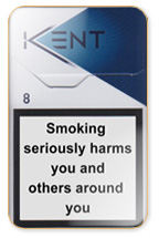 Kent Premium Lights Nr. 8 (Futura) Cigarette Pack