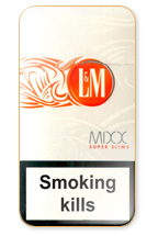 L&M MIXX Super Slims Cigarette Pack