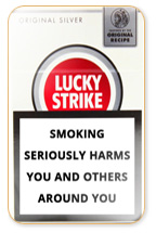 Lucky Strike Original Silver Cigarette Pack
