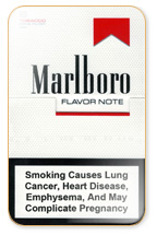 Marlboro Flavor Note (Filter Plus) Cigarette Pack