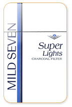 Mild Seven Super Light Cigarette Pack