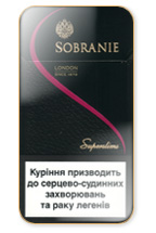 Sobranie Super Slims 100's Cigarette Pack
