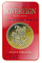 Sovereign Red Cigarette Pack