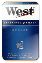 West Medium Cigarette Pack