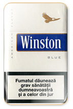 Winston Lights (Balanced Blue) Cigarette Pack