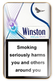 Winston XStyle Duo Purple Cigarettes pack