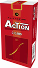 Action Little Cigars Full Flavor 100's Cigarettes pack