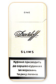 Davidoff Slim One 100`s Cigarettes pack