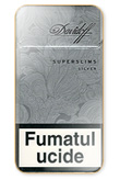 Davidoff Super Slims Silver Cigarettes pack
