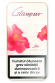 Glamour Super Slims Lilac 100's Cigarettes pack