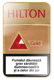 Hilton Gold Cigarettes pack