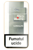 Red&White Super Slims Fine Cigarettes pack