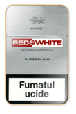 Red&White Super Slims Shine Cigarettes pack