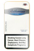 Rothmans Super Slims Silver Cigarettes pack