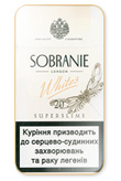 Sobranie Super Slims Whites 100's Cigarettes pack