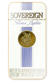 Sovereign Slim Lights 100's Cigarettes pack