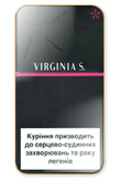 Virginia S. Pink Super Slims 100's Cigarettes pack