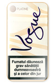 Vogue Super Slims Platine Cigarettes pack