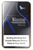 Winston XS blue Cigarettes pack